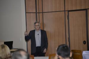 Marty Sprinzen giving a presentation